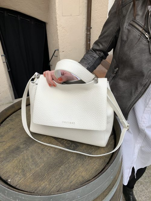 Orciani Leather Bag 2006 bianco