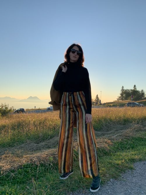 Pomandère Stripe Pants 31